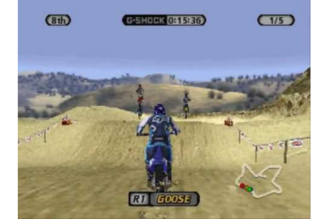 SuperCross Circuit ~ PS1 PlayStation - YouTube