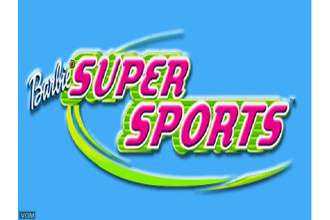 Barbie - Super Sports for Sony Playstation - The Video ...