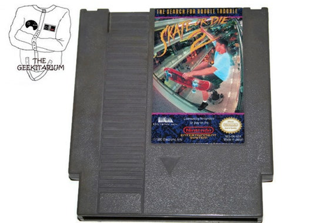 Nintendo NES Skate or Die 2 The Search for Double Trouble game