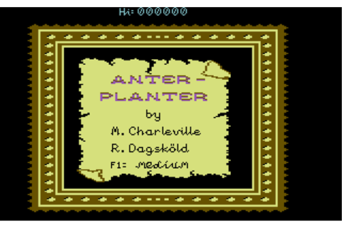 Download Anter-Planter (Commodore 64) - My Abandonware
