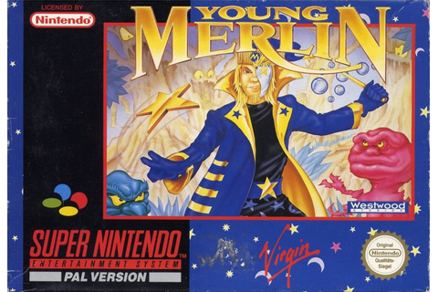 Young Merlin (1993) SNES box cover art - MobyGames