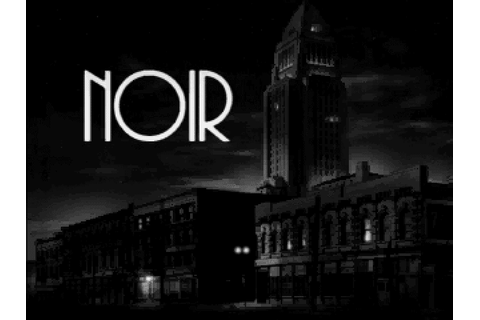 The Collection Chamber: NOIR: A SHADOWY THRILLER