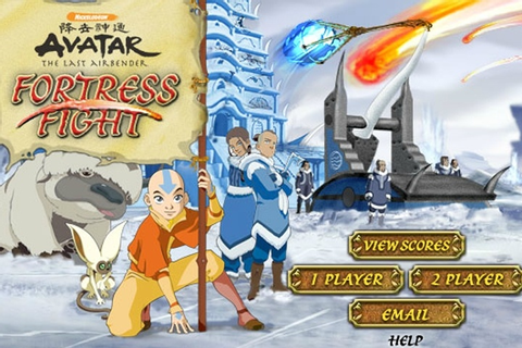 Avatar The Last Airbender Fortress Fight Game - Avatar The ...