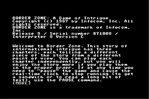 Download Border Zone - My Abandonware