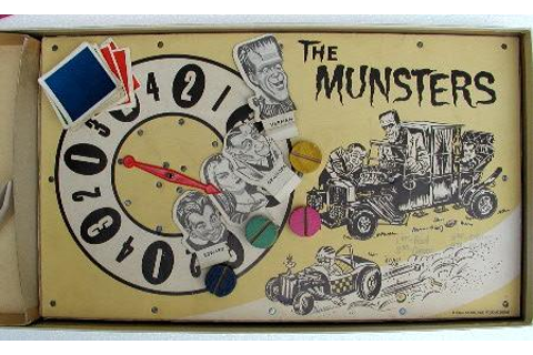 THE MUNSTERS DRAG RACE GAME
