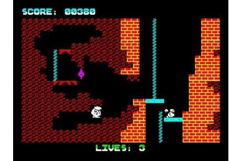 Wanted: Monty Mole Walkthrough, ZX Spectrum - YouTube