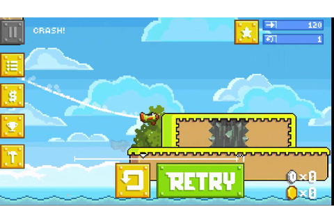 RETRY - I tried so hard - Retry Rovio Game - YouTube