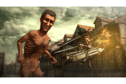 Attack on Titan: Wings of Freedom screenshots and trailers ...
