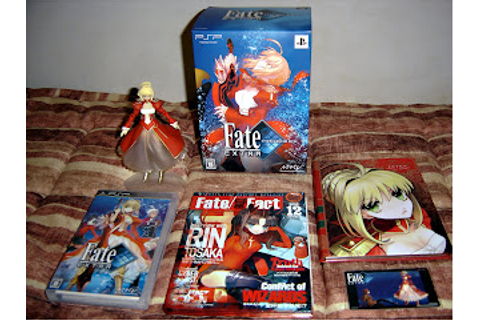 Soth's Blog: Fate/Extra Type-Moon Box + Figma Saber Extra