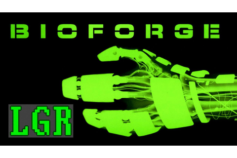 LGR - BioForge - DOS PC Game Review - YouTube