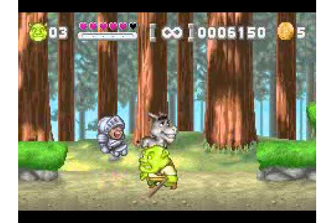 Shrek - Hassle at the Castle (GBA) - YouTube