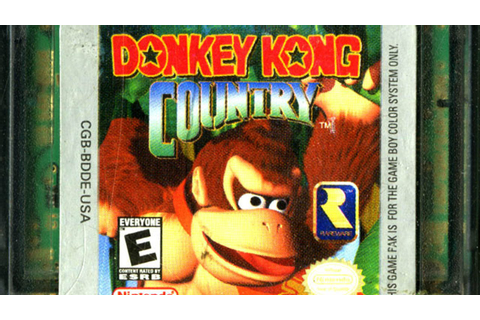 CGR Undertow - DONKEY KONG COUNTRY review for Game Boy ...