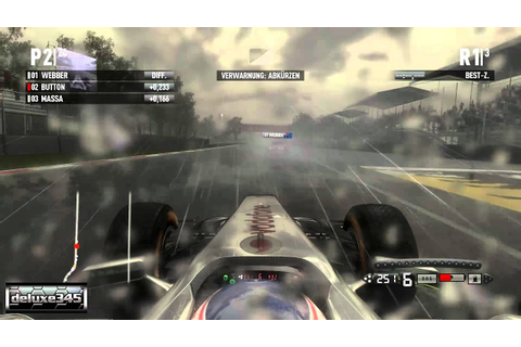 F1 2011 Video Game Gameplay #2 (PC HD) - YouTube