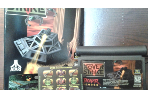Hover Strike Review for the Atari Jaguar - YouTube