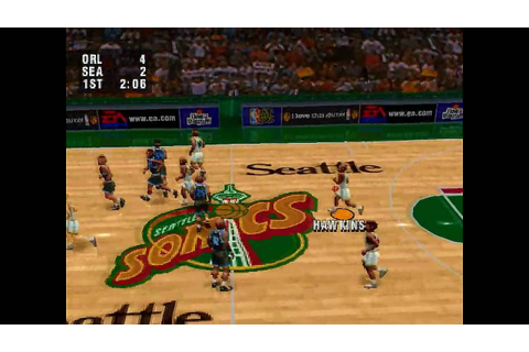 NBA Live 96 Playstation Classic Game - YouTube