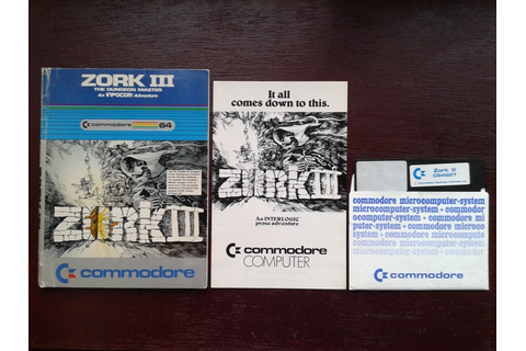 Commodore 64/128 game: Zork III: the Dungeon Master - Catawiki