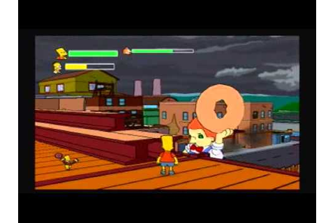 The Simpsons Game Walk/Playthrough Part 14: Lard Lad Boss ...