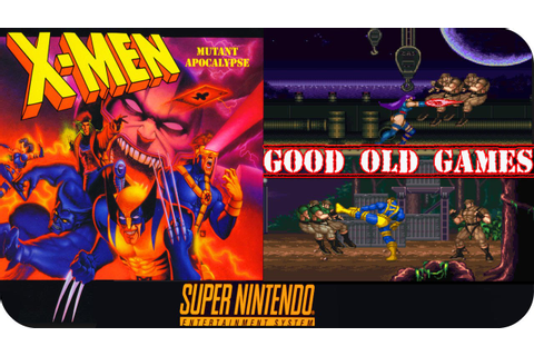 X-Men: Mutant Apocalypse Gameplay & Comments SNES - YouTube
