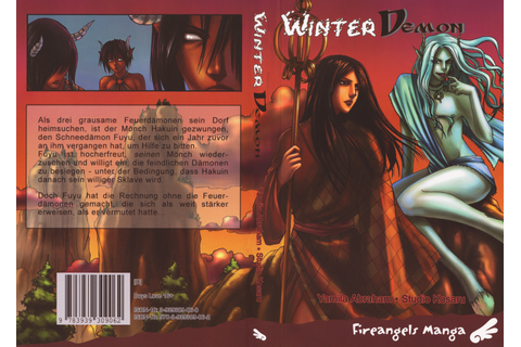 Winter Demon: Winter Demon Cover 1 - Minitokyo