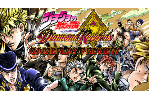 JoJo's Bizarre Adventure Diamond Records Gameplay and ...
