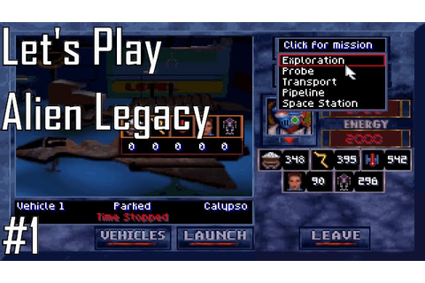 Let's Play Alien Legacy – Entry 1 – A New Home (1/5) - YouTube