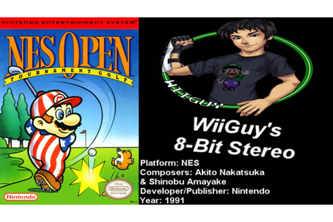 NES Open Tournament Golf (NES) Soundtrack - 8BitStereo ...