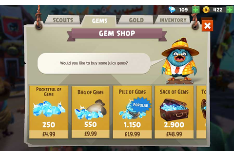 How To Get Free Gems In Angry Birds Evolution