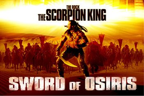 Scorpion king: Sword of Osiris - Symbian game. Scorpion ...