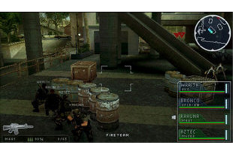 SOCOM U.S. Navy SEALs Tactical Strike Game | PSP - PlayStation