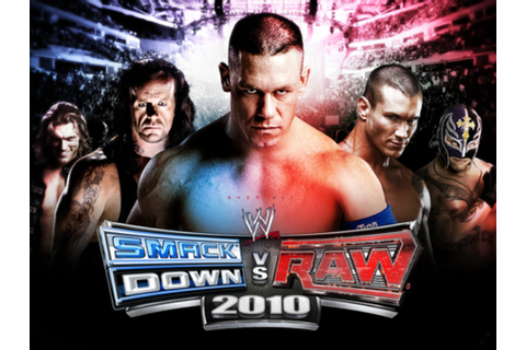 Official WWE Smackdown VS Raw 2010 character list