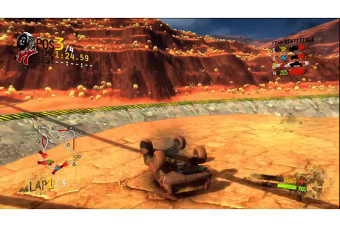 Harms Way - Wastleland. - Racing Game Play - YouTube