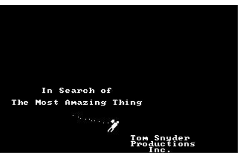 In Search of The Most Amazing Thing Download (1983 ...