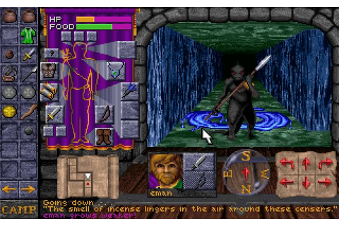 Download Dungeon Hack rpg for DOS (1993) - Abandonware DOS