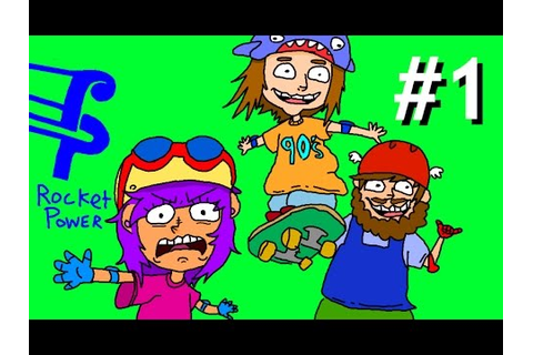 A Game For 90s Kids - Rocket Power Beach Bandits - PART 1 ...