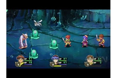 Lunar: Silver Star Harmony Sony PSP Gameplay - Alex Battle ...