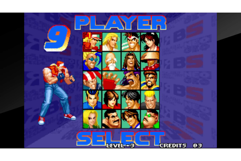 ACA NEOGEO REAL BOUT FATAL FURY SPECIAL (PS4) - YouTube