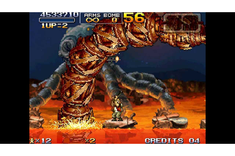 Metal Slug 7 Walkthrough/Gameplay DS MonoScreen HD - YouTube