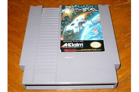 Destination Earthstar Game f. NES Original Nintendo ...