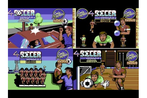 4 Soccer Simulators Review for the Commodore 64 by John ...