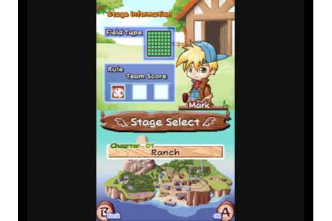 Harvest Moon Frantic Farming DS - YouTube