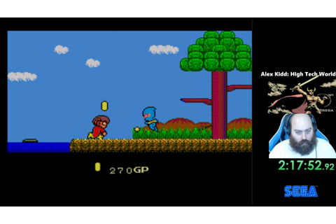 Alex Kidd in High Tech World (Part 13) - YouTube