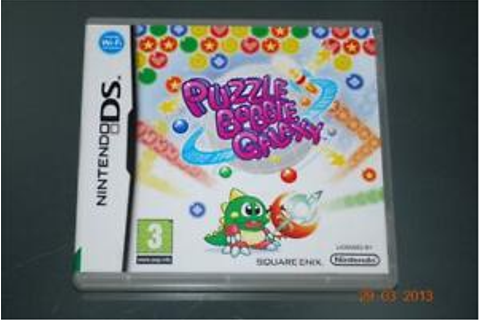 Puzzle Bobble Galaxy Nintendo DS 3DS UK Game **FREE UK ...