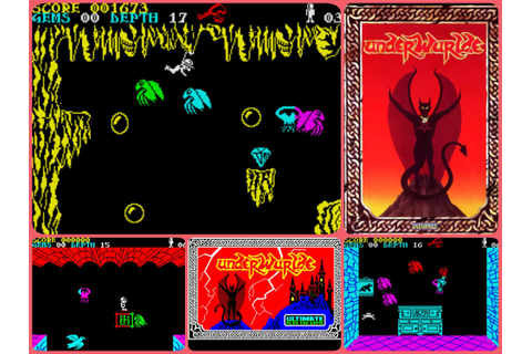 Underwurlde - Ultimate Play The Game | ZX Spectrum ...