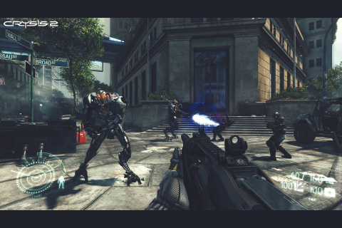 Crysis 2 gets killer gameplay shots - VG247