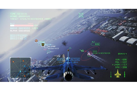 Ace Combat Infinity brings free-to-play air combat to PS3 ...