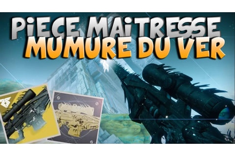 DESTINY 2 - CATALYSEUR MURMURE DU VER - YouTube