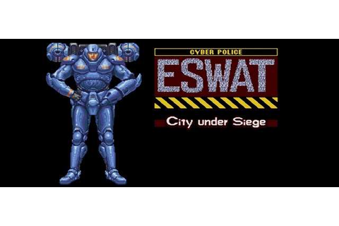 APK MANIA™ Full » ESWAT City Under Siege Classic v1.0.0 APK