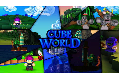 Cube World - Speed Art by AlphaKrizz - YouTube