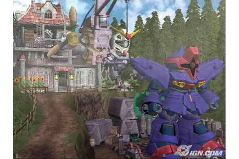 Gundam RPG Screenshots, Pictures, Wallpapers - PlayStation ...