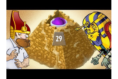 Plants vs. Zombies 2 - Pyramid of Doom: Master it! - YouTube